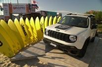 Jeep apresenta edição limitada do Renegade ligada ao surfe
