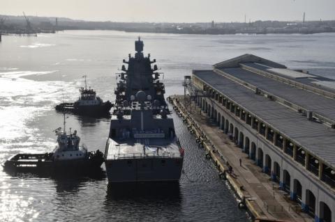 Fragata russa atracada em Cuba vai para a Venezuela