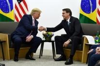Bolsonaro se encontra com Trump e reafirma apoio à reeleição do republicano