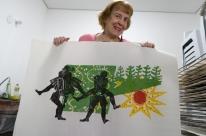 Mostra com obras de Zoravia Bettiol abre nesta quarta-feira em Bagé
