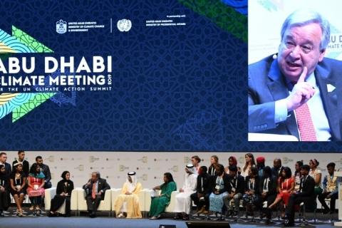 'Desajuste climático acontece agora e para todos', diz secretário da ONU
