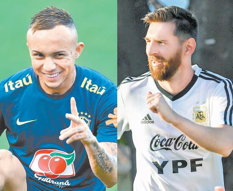 Everton e Messi brigam pelo protagonismo na partida de hoje à noite no Mineirão