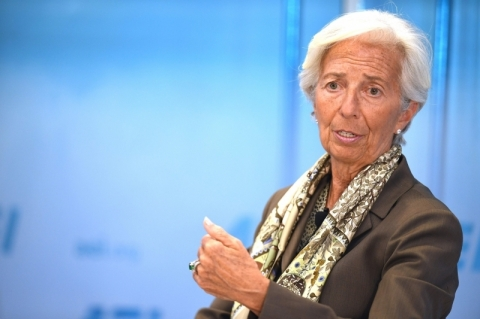 Christine Lagarde é candidata à presidência do Banco Central Europeu no lugar de Mario Draghi