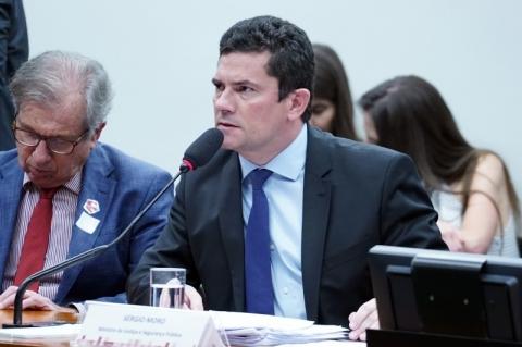 'Brasil não deve ser refúgio para criminosos', diz Moro sobre mafiosos presos