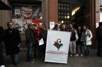 Protesto defende audiência pública sobre mina de carvão