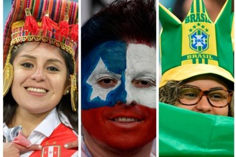 Viva o futebol, viva a Copa América, viva um continente que vibra como nenhum outro!!