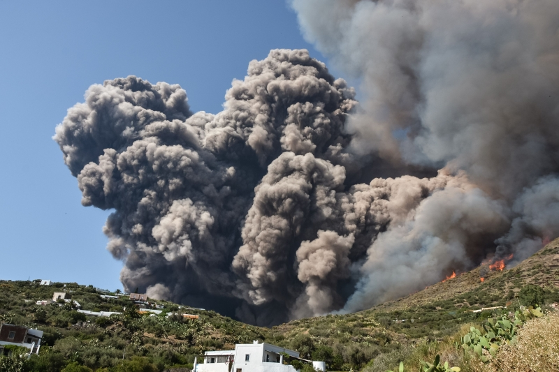 Última erupção do Stromboli, um dos vulcões mais ativos do mundo, havia sido em 1985