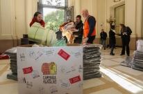 Campanha do Agasalho recebe mais de 3,1 mil itens neste sábado