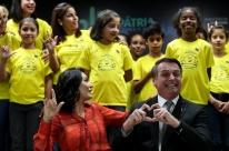 Bolsonaro lança programa 'pátria voluntária' em hospital de Brasília