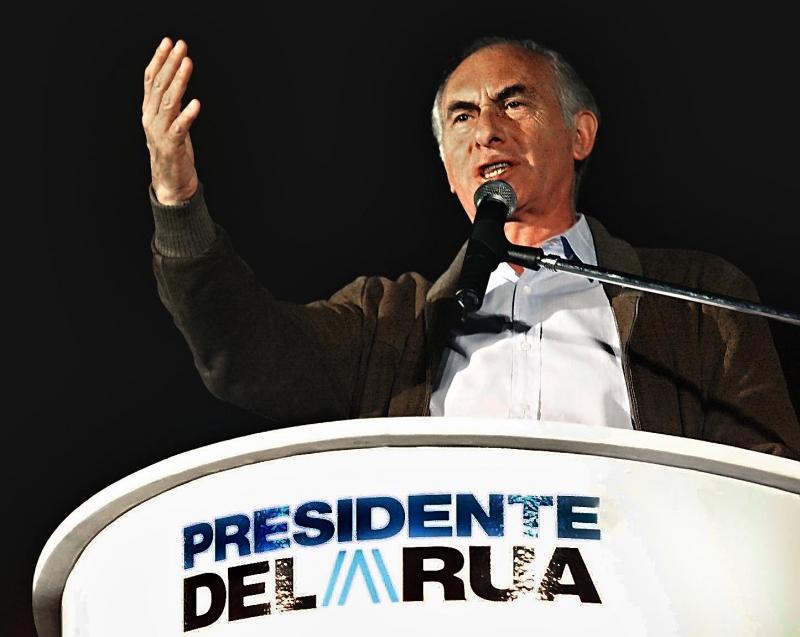 Ex-presidente governou o país de 10 de dezembro de 1999 a 21 de dezembro de 2001