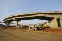 Continuidade de obra da nova ponte do Guaíba causa estreitamento de pista até sexta