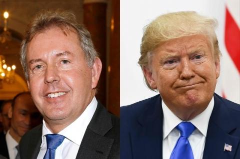 Embaixador britânico renuncia após polêmica por críticas a Trump