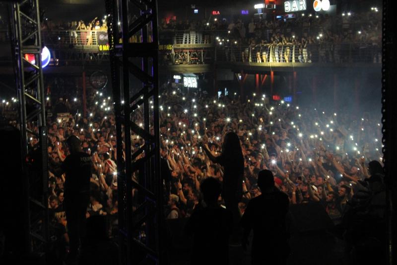 O último Rap In Cena teve a presença de 6300 pessoas