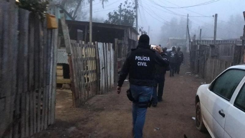 Ação cumpriu 55 mandados de busca e apreensão em residências do local
