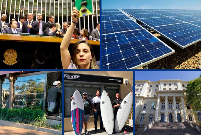 Destaques da semana incluem restaurante que furtava energia elétrica na Capital