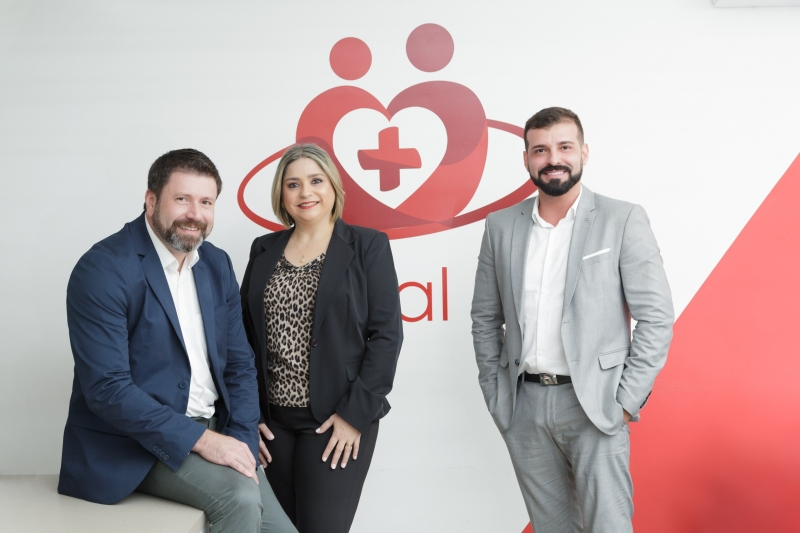 Gerson Araújo, Clair Silveira e Rodrigo Miranda integram negócio