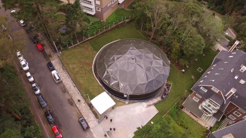 Novo reservatório foi inaugurado pela Corsan em Gramado em 2018