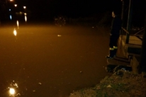 Cheia do Rio Vacacaí alerta para risco de inundação em São Gabriel