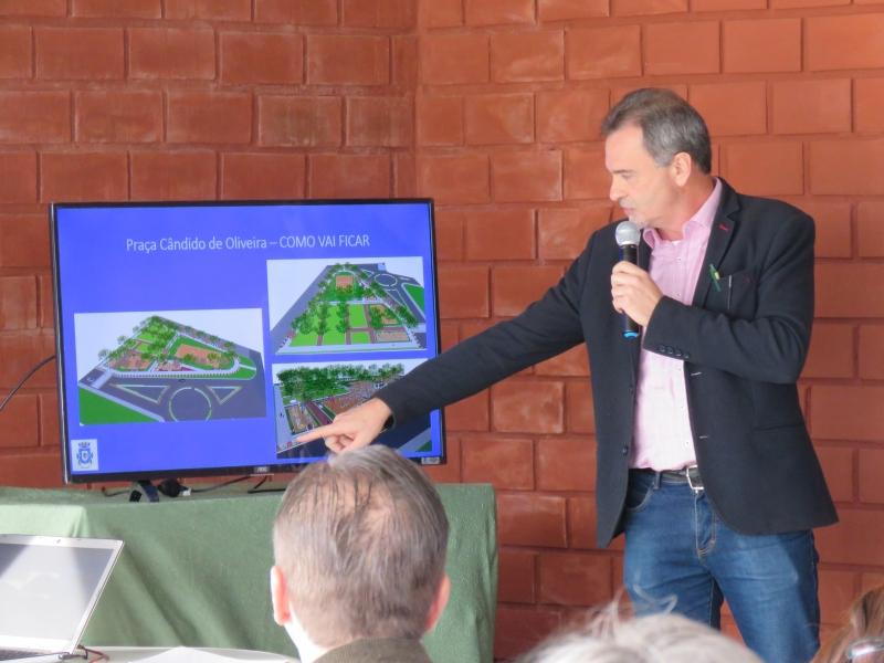 Obras de infraestrutura e melhoria em prédios serão prioridade, segundo o secretário Paulo Cesar Nunes
