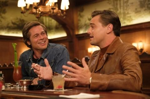 Leonardo DiCaprio e Brad Pitt estrelam novo filme de Tarantino
