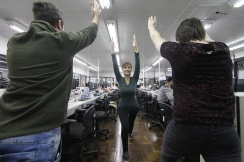 Após demissão e descoberta de um câncer, a jornalista Luciana se inspirou em projeto que integra pessoas