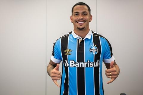 Grêmio oficializa contratação do atacante Luciano, ex-Fluminense