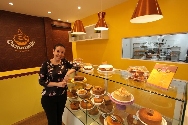 Luciana abriu a empresa com o marido e um amigo depois de uma temporada na Austrália