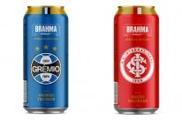 Brahma lança lata especial de Grêmio e Internacional