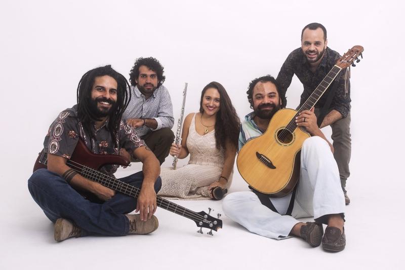 Grupo une ritmos como baião, carimbó, frevo e samba rock