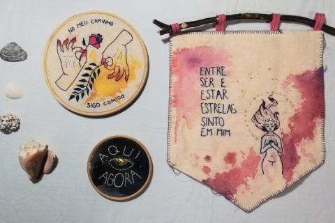 Obra Café recebe mostra de poemas visuais no mês de agosto