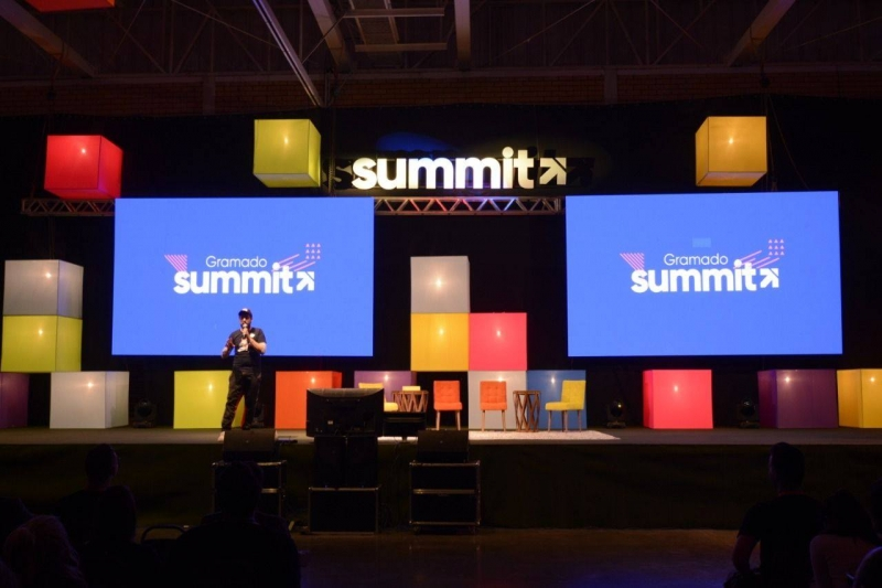 140 palestras estavam previstas na Gramado Summit