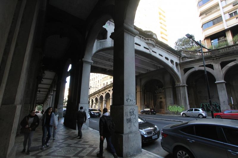 Projeto para a revitalização do Viaduto Otávio Rocha foi um dos que não foram aprovados