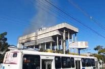Incêndio atinge prédio da PRF em Porto Alegre