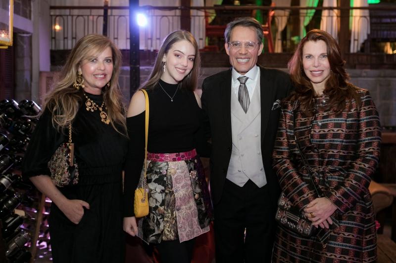 Karla Johannpeter, Alberta Johannpeter, Luiz Jacintho Pilla e Dulce Helene Goettems
