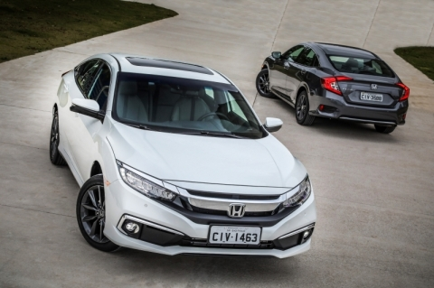Honda Civic fica ainda mais completo na linha 2020