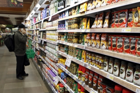Inflação em supermercados sobe 0,32% em agosto
