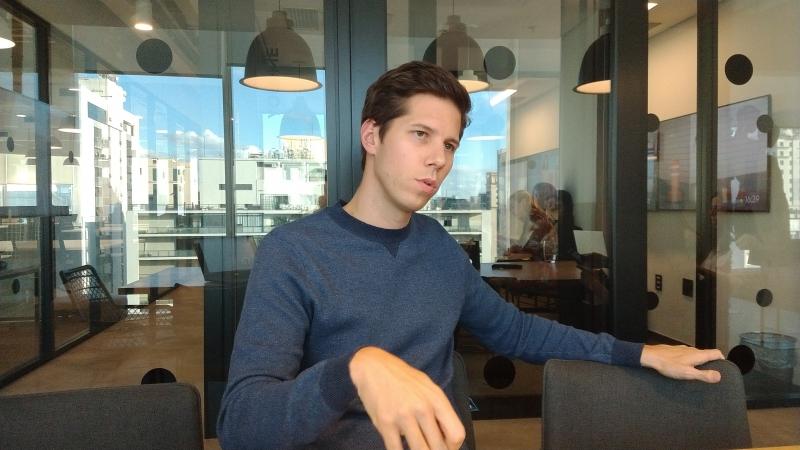 Dominique Oliver é cofundador da Amaro