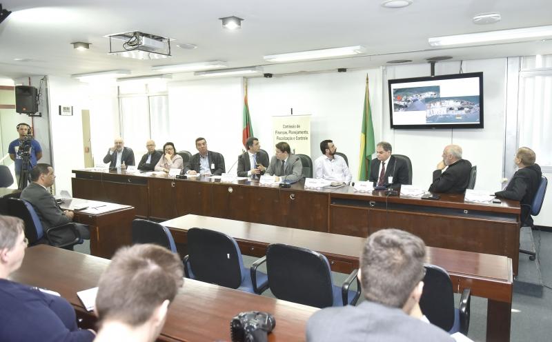 Situação do projeto foi discutida em reunião na Assembleia Legislativa