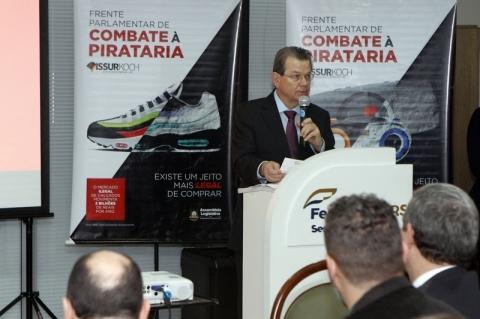 Pirataria volta ao foco do Legislativo e de entidades do comércio