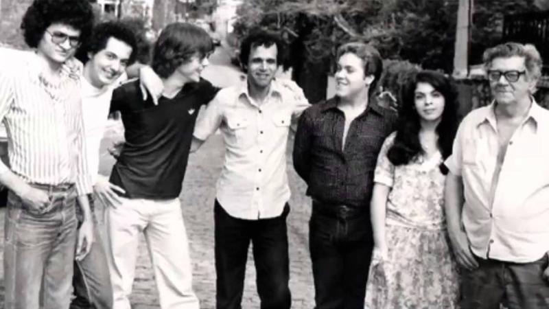 Radamés Gnattali (d) com o grupo, que fez turnê internacional