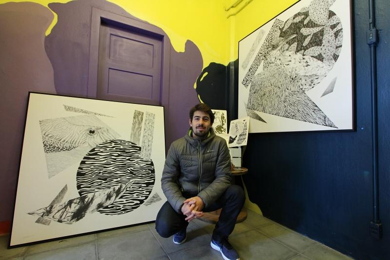 Kelvin toca projetos com marcas e é sócio da Galeria Térrea