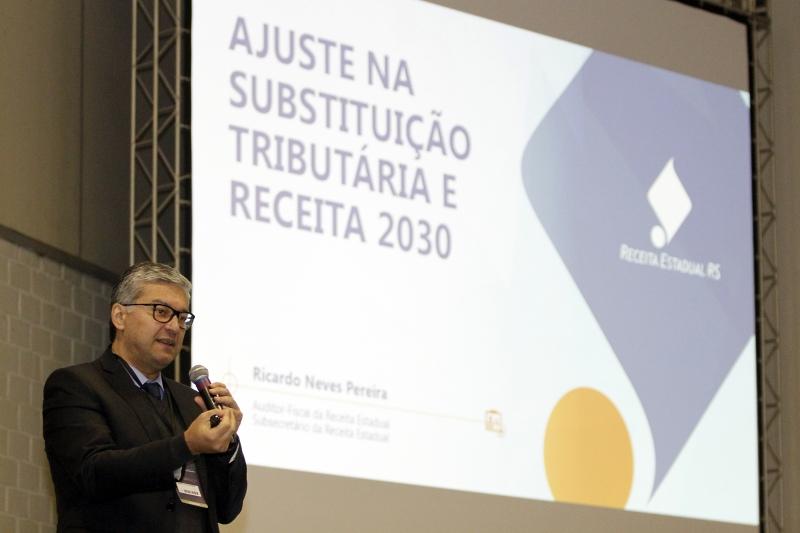 Pereira detalhou os planos do governo do Estado sobre tributação
