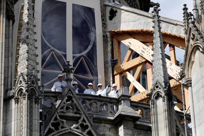Trabalho deve preservar a estrutura gótica e evitar a queda de pedras