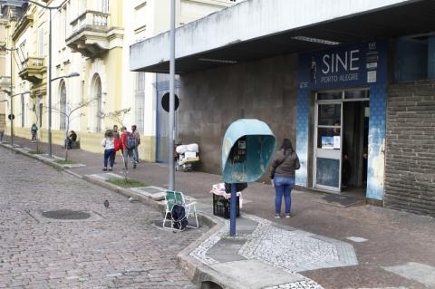 Agência FGTAS/Sine do Centro de Porto Alegre reabre na segunda-feira