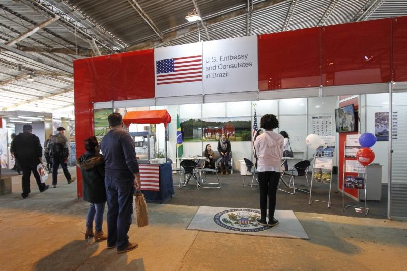 Norte-americanos não contavam com um estande oficial no Pavilhão Internacional da Expointer desde 1992