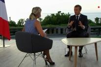 Macron volta a ameaçar acordo UE-Mercosul
