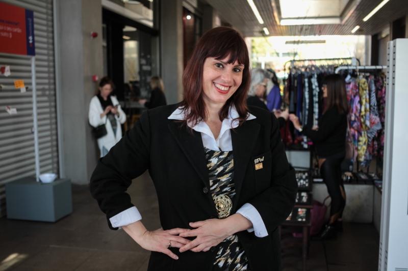 Para Lessandra, evento é uma forma de motivar as mulheres que querem começar um negócio