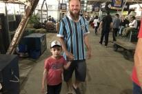Gremistas na Expointer torcem para enfrentar o Inter na semifinal