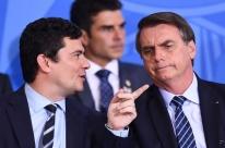 Bolsonaro acusa Moro de vazar relatórios e fala em crime previsto na Lei de Segurança Nacional