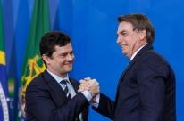 'Parte do que acontece na política do Brasil devemos a Sérgio Moro', diz Bolsonaro